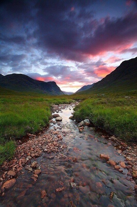 creek scotland landscape pretty colors - 7139150080