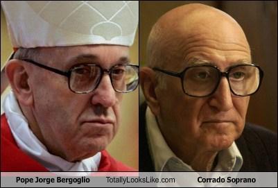 jorge bergoglio pope totally looks like corrado soprano - 7139283456