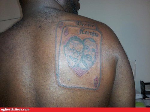 back tattoos poker playing cards - 7139320576