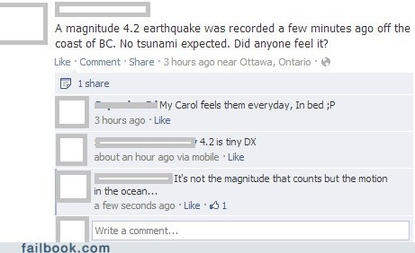 magnitude peens earthquake peen jokes