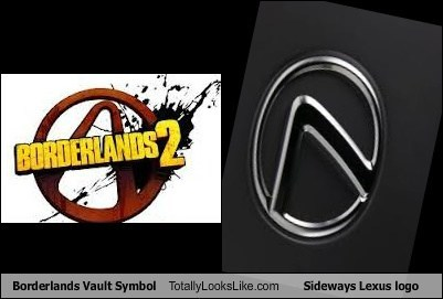 logo borderlands TLL lexus - 7139468544