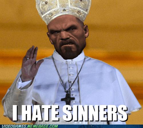 Left 4 Dead,sinners,pope