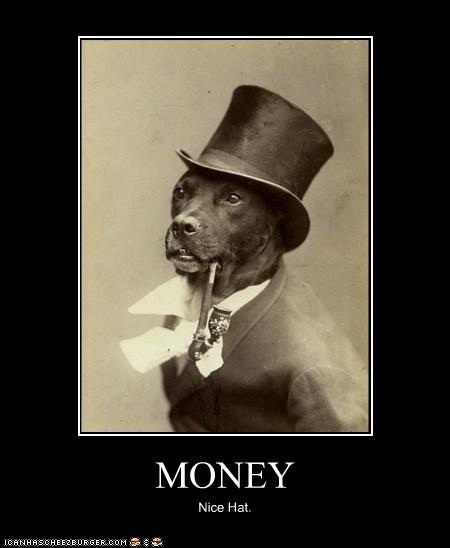 MONEY Nice Hat.