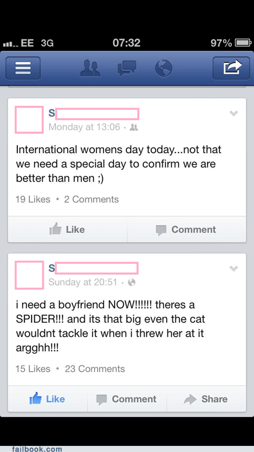 sexism,international women's day,boyfriends,girls,dating
