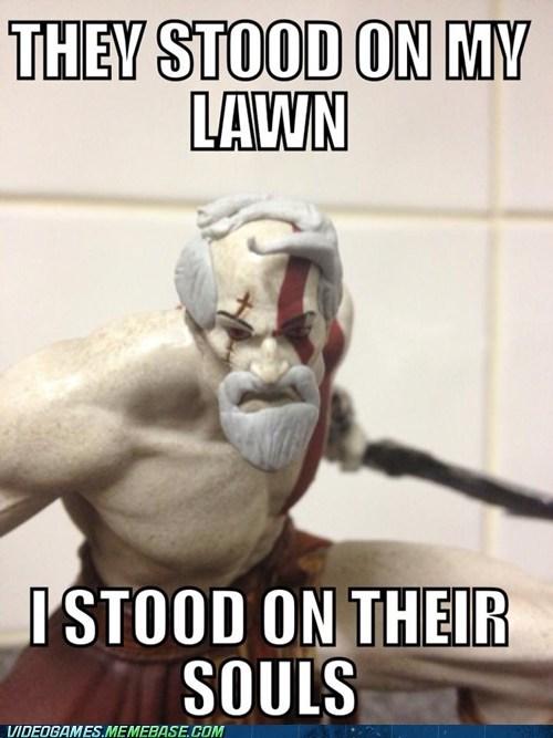 god of war figurines kratos - 7139996416