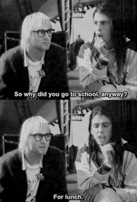 Dave Grohl,kurt cobain,nirvana