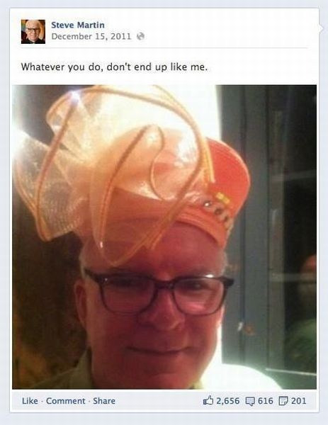 hats facebook Steve Martin - 7140473856