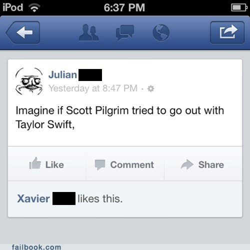 scott pilgrim taylor swift relationships dating failbook g rated - 7140552192