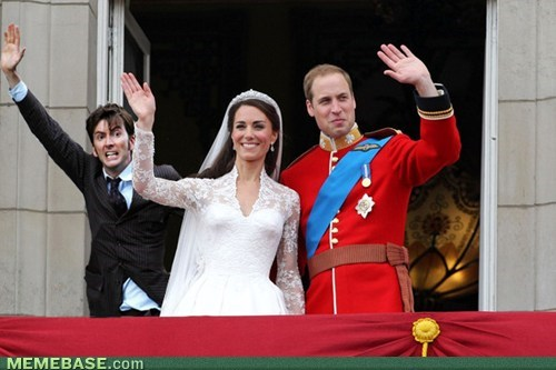 Just A Shot Of The Royal Wedding...