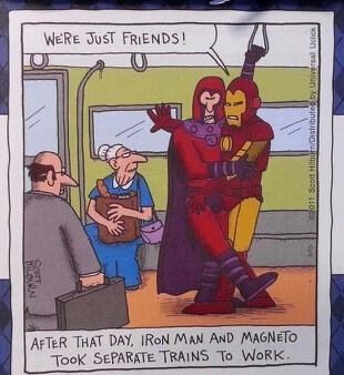 Magneto Awkward iron man - 7140633088