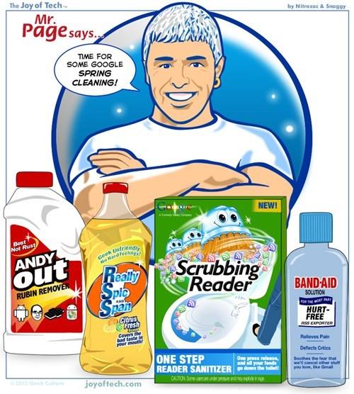 spring cleaning comics joy of tech google - 7140706816