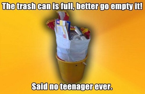 trash,teenagers