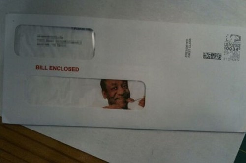 bill cosby,bills,mail