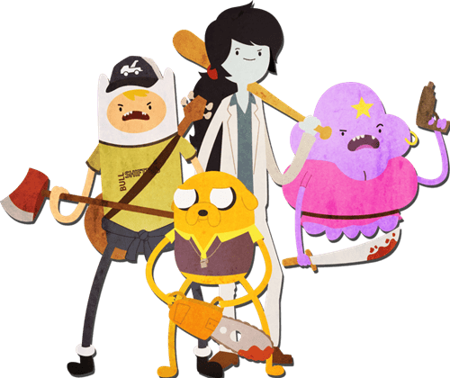 Left 4 Dead crossover Fan Art video games adventure time - 7140801536