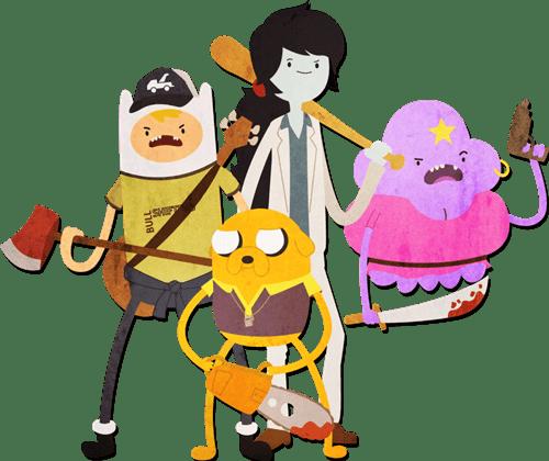 Left 4 Dead crossover Fan Art video games adventure time - 7140801536