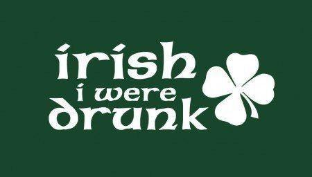 drunk St Patrick's Day irish - 7140880384