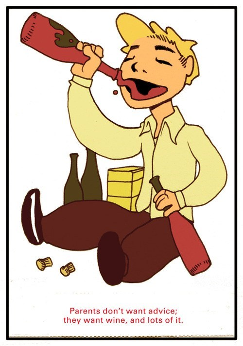 good advice wine parents - 7140891904