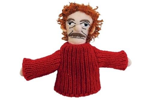 finger puppet kurt vonnegut magnet - 7140925440