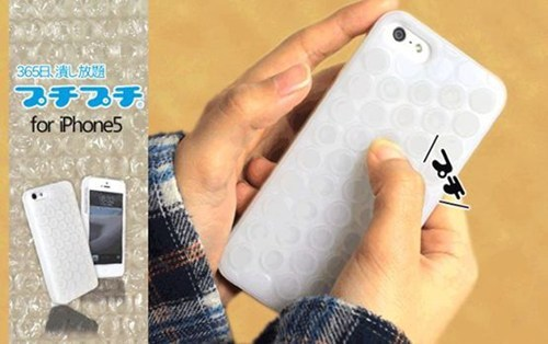bubble wrap phone case iphone - 7140937216