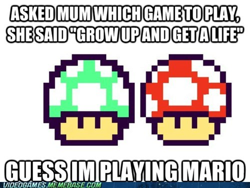 1up mario Mushrooms