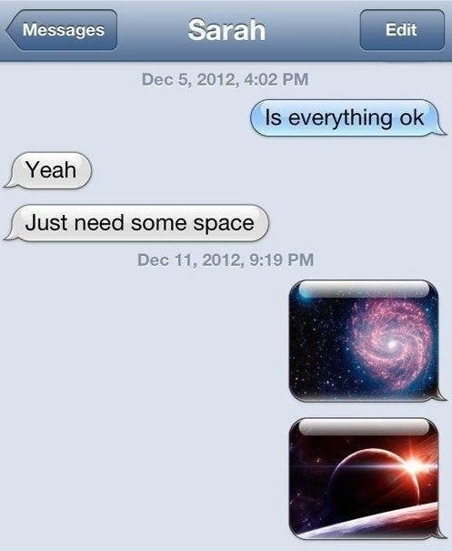 need some space iPhones space - 7141019392