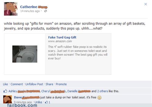 Failbook - gag gift - Funny Facebook
