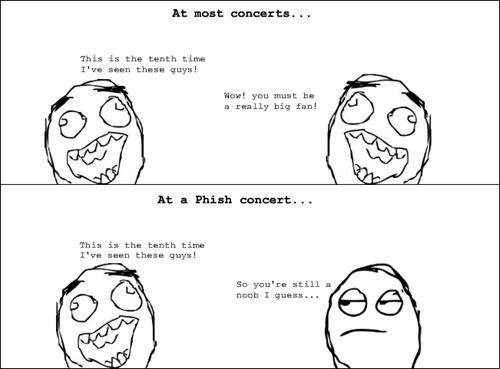 concerts phish Rage Comics - 7141343488