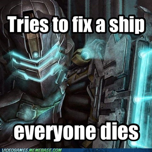 dead space bad luck isaac clarke - 7141778688