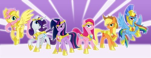 epic art wings mane six - 7142196736