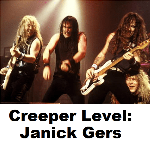 janick gers creepy iron maiden - 7143324416
