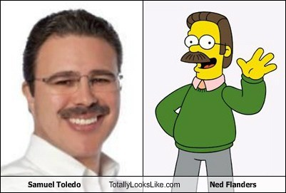 samuel toledo,totally looks like,ned flanders