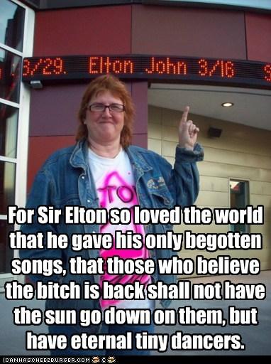 Elton John 3:16