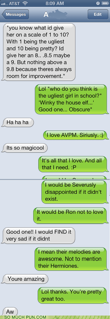 Harry Potter,texts,avpm