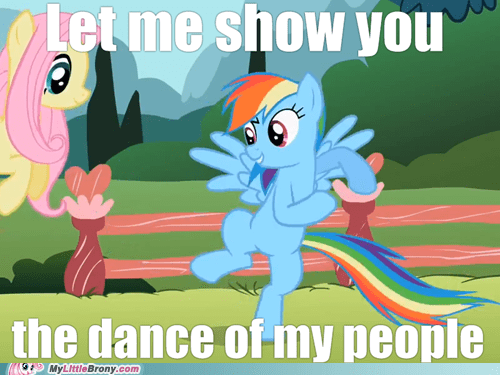 Dance Of My People rainbow dash - 7145366016