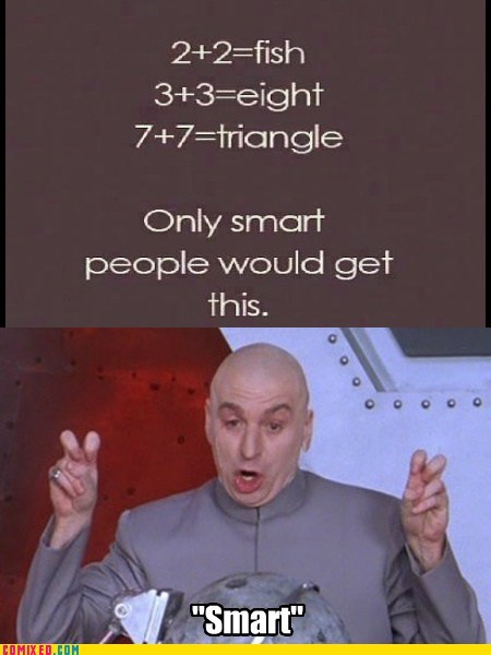 dr-evil smart people math