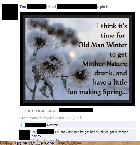 spring mother nature old man winter winter hurricane sandy - 7146249984
