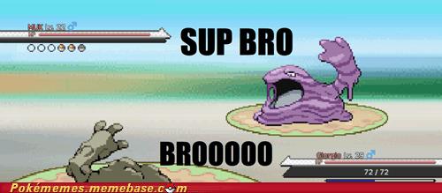bros battle gameplay graveler muk - 7146346752