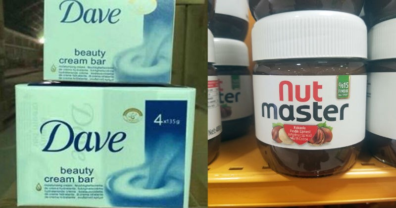 cover image of off brands, Dave and dove and nut master for nutella