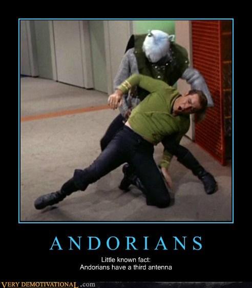Captain Kirk probed Star Trek Andorian - 7147655680