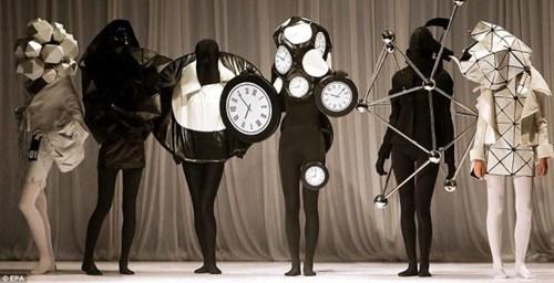 wtf clocks runway fashion - 7147782144