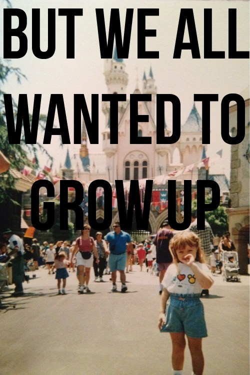 growing up disneyland - 7147894528