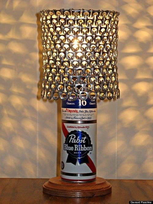 beer art lamp awesome can funny - 7147897856