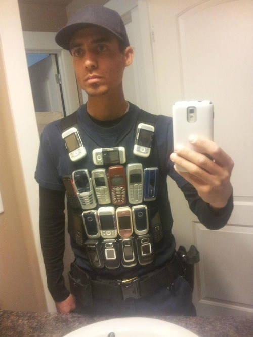 The Improved Bullet Proof Vest