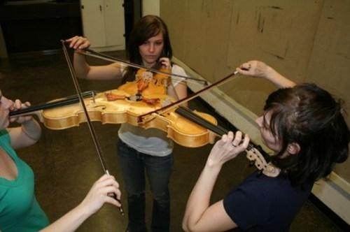 triple,violin