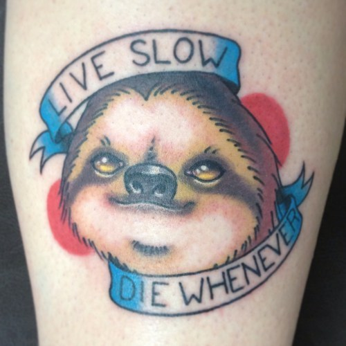 Ugliest Tattoos win sloth - 7148095488
