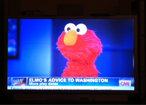 elmo washington Sesame Street politics - 7148115968