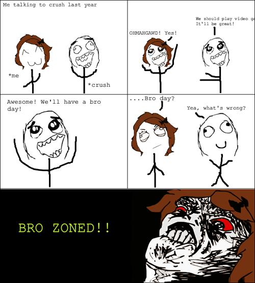 bro-zoned friendzone Rage Comics - 7148205312