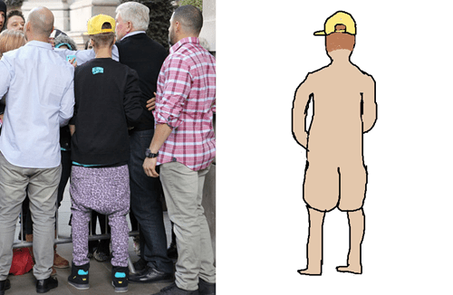 saggy pants,butts,justin bieber,Music FAILS