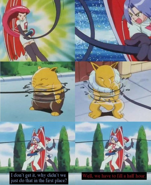 jessie Team Rocket anime honesty - 7148314880