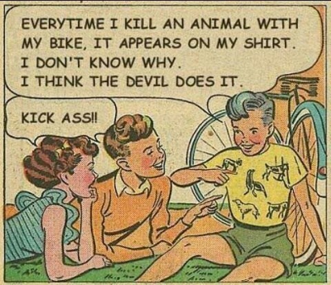 satan,comics,shirts,animals
